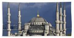 The Blue Mosque In Istanbul Beach Towel