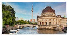 The Bode Museum Berlin Germany Beach Towel