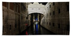 The Bridge Of Sighs Beach Towel