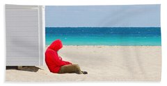 The Bright Side Beach Towel by Keith Armstrong