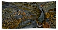 The Brown Trout Beach Towel