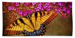The Butterfly Effect Beach Sheet