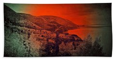 The Cabot Trail Beach Towel