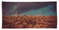 The Calm In The Storm Beach Towel