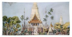 The Cambodian Pavilion, Paris Expo Beach Towel