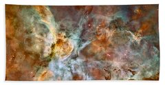 The Carina Nebula Beach Sheet by Nasa