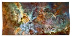 The Carina Nebula Beach Towel