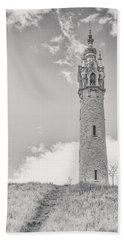 The Castle Tower Beach Towel