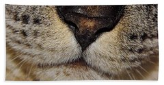 The - Cat - Nose Beach Towel