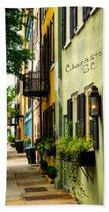 The Charm Of Charleston Beach Sheet by Karol Livote