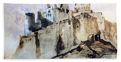 The Chateau Of Vianden Beach Towel