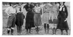 The Cheyenne Rodeo Roundup Cowgirls Beach Towel