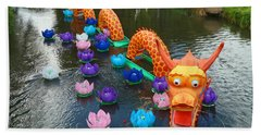 The Chinese Dragon Beach Towel
