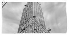 The Chrysler Building Beach Towel