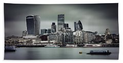 The City Of London Beach Towel