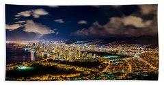 The City Of Aloha Beach Towel