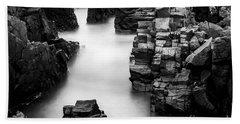 Beach Sheet featuring the photograph The Cliffs by Gunnar Orn Arnason