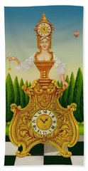The Clockmakers Wife Beach Towel