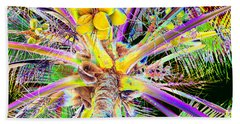 The Coconut Tree Beach Towel