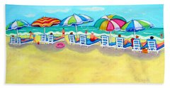 The Color Of Summer  Beach Towel