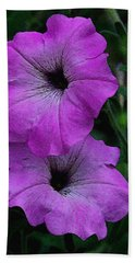 Beach Towel featuring the photograph The Color Purple   by James C Thomas