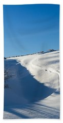 The Colors Of Snow Beach Sheet