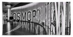 The Cosmopolitan Hotel Las Vegas By Diana Sainz Beach Sheet