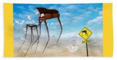 The Crossing 2 Beach Towel by Mike McGlothlen