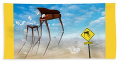 The Crossing 2 Beach Sheet by Mike McGlothlen