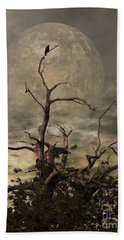 The Crow Tree Beach Towel