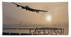 The Dambusters - Last One Home Beach Sheet by Gary Eason