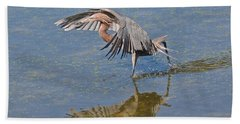 Beach Towel featuring the photograph The Dance by Carol  Bradley