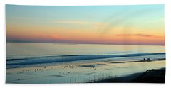 The Day Ends Beach Towel