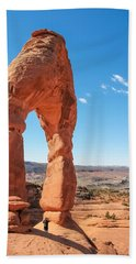 The Delicate Arch Beach Towel