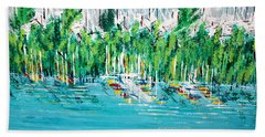 The Docks Beach Towel