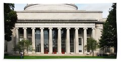 The Dome At Mit Beach Towel