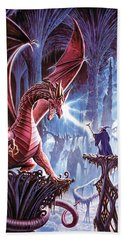 The Dragons Lair Beach Towel