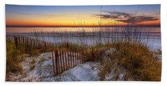 The Dunes At Sunset Beach Towel
