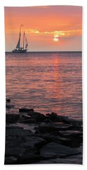 The Edith Becker Sunset Cruise Beach Towel