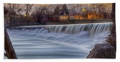 The Falls Of White River Beach Towel