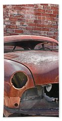 Beach Towel featuring the photograph The Fixer Upper by Lynn Sprowl