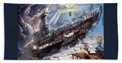 The Flying Submarine Beach Sheet