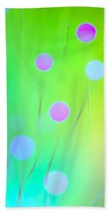 The Garden Beach Towel by Dazzle Zazz