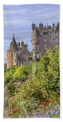 The Garden Of Glamis Castle Beach Towel