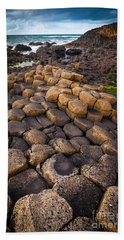 The Giant's Causeway - Rocky Road Beach Towel