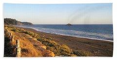 The Golden Coast Beach Towel