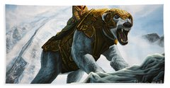 The Golden Compass  Beach Towel