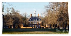 The Governor's Palace Beach Towel by Patti Whitten