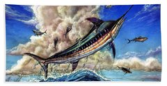 The Grand Challenge  Marlin Beach Towel