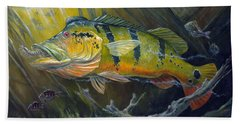 The Great Peacock Bass Beach Towel